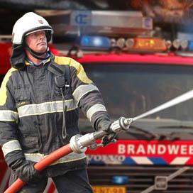 Brand bij banketbakkerij Schroot in Tiel