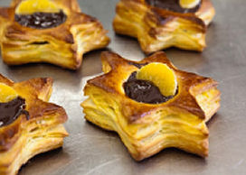 Sinaasappel-chocoladester