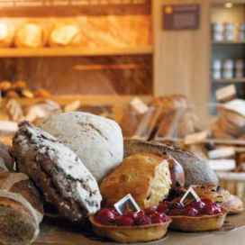 Vlaamsch Broodhuys Shop in restaurant