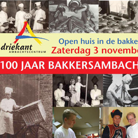 Driekant viert 100 jaar bakkersambacht