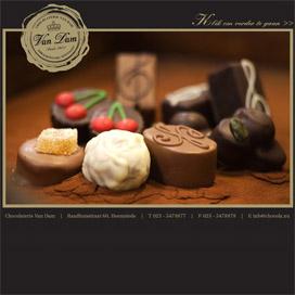 Chocolaterie Van Dam leukste winkel van Nederland 2012