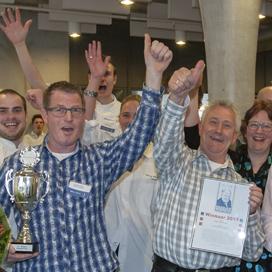 Bakkerijteam ROC Twente wint Trofee 2013