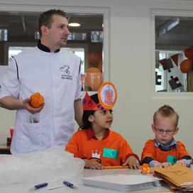 Bakker Godschalk geeft oranje-workshop