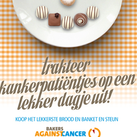 12.500 vouchers voor Bakers Against Cancer