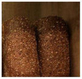 Bruin volkoren brood populair bij afvallen