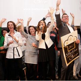 Sterren-winnaars uitzinnig van vreugde (fotoverslag)