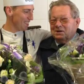 80-jarige chauffeur Patisserie de Rouw met pensioen