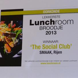 Lekkerste lunchroombroodje: The Social Club
