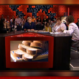 Discussie over brood in DWDD