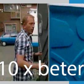 Huiskamp in tv-programma 10xBeter