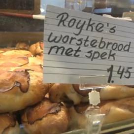 Royke's worstenbroodje blijkt niet typisch Tilburgs