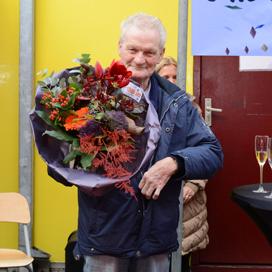 80-jarige 55 jaar in dienst bij Van Delft Biscuits