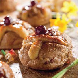 Appel-paasbroodjes