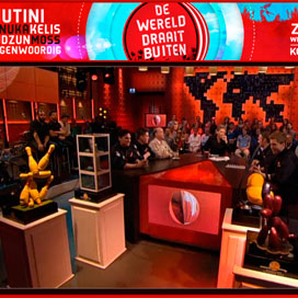 Nederlands Patisserie Team in DWDD