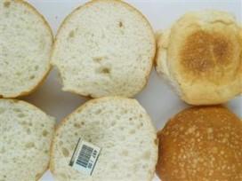 Grove structuur zacht kleinbrood