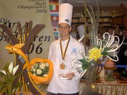 Wereldkampioen patisserie Ronald van Haarlem