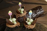 Chocolade vogelnestjes