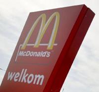 Groente en fruit bij McDonald's Belgi