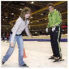 Winnaars schaatsen met Sven Kramer