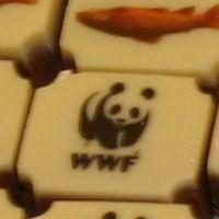 Bonbons voor het Wereld Natuur Fonds