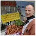 Slager heet Hema op ludieke wijze welkom