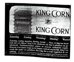 'Merkbrood King Corn was tijd ver vooruit