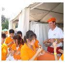 Groot feest bij Holland Bakery in Peking