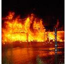 Bakkerij La Lorraine afgebrand