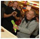 Ron Boszhard viert verjaardag in bakkerij