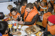 Massale aandacht Het Nationaal Schoolontbijt