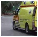 Medewerker Meneba zwaar gewond naar ziekenhuis na ongeval