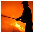 Josto ontsnapt aan grote brand