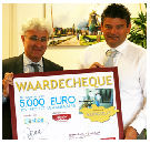 STIOS krijgt 5000 euro van Wouter de Graaf