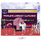 Grootste cupcake ter wereld weegt 1224 pond
