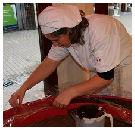 Nederlandse patissier maakt reuze chocoladeletter