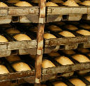 'Supermarktbrood ligt op zonnebank