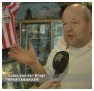 Sparta bakker Louis van der Krogt vol ongeloof