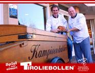 Bakker Berntsen zet Didam op stelten met Tiroliebollen