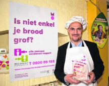 Vierenveertig bakkers tegen discriminatie