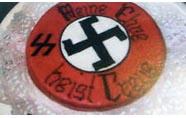 Banketbakker maakt nazi taarten