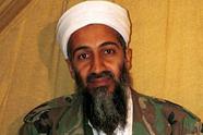 Bakkers maken cake met afbeelding Bin Laden