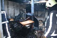 Bakkerij Bellis getroffen door grote brand