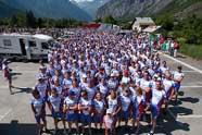 Team Sonneveld bedwingt Alpe d'Huez 42 keer