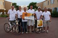 Twentse bakkers bedwingen Mont Ventoux voor goed doel