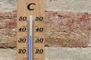 De deegtemperaturen in de zomer