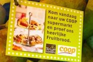 Coop en Fruitbakkers ontwikkelen Fruitbrood