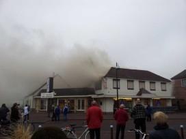 Bakkerij Berntsen bedreigd door brand