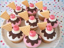 Demonstratie cupcakes maken bij bakkerij Snip!