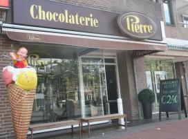 Chocolaterie Pierre bedenkt broodje ijs