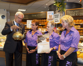 Bakkerij Klok wint Koffietrofee Veenendaal 2012
